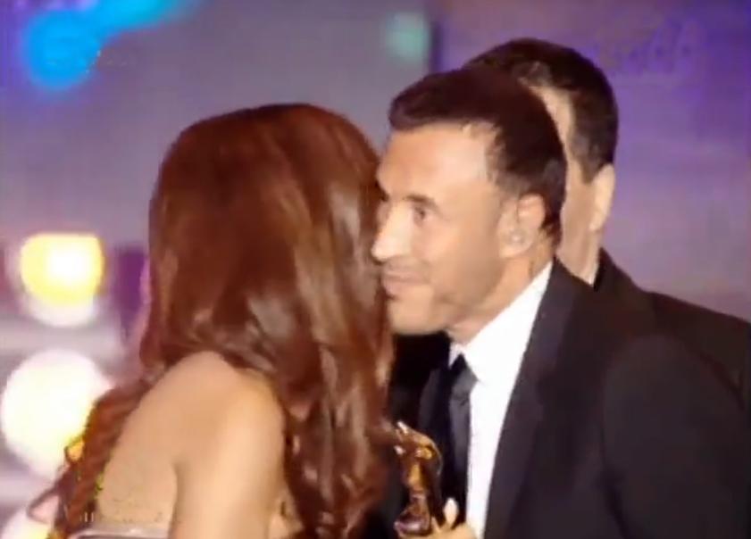 جائزة الاسطورة في حفل جوائز الموريكس 2012