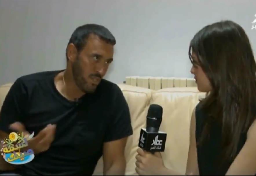 لقاء كاظم الساهر مع قناة الخبر على هامش مهرجان جميلة 2014