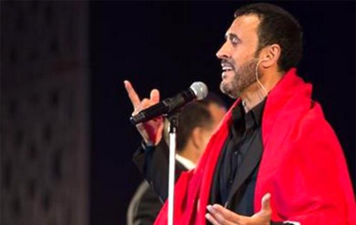 القيصر يغني لعيد الحب في المغرب – نقل مباشر من داخل المقال