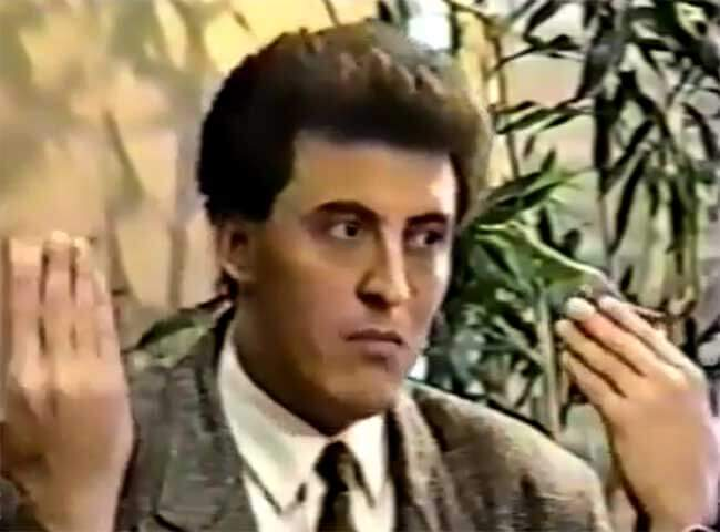 لقاء نادر جدا مع كاظم الساهر نهاية الثمانينات – كامل HD